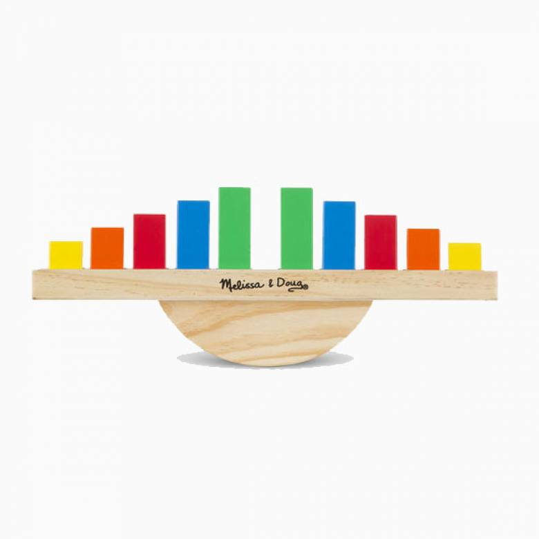 Rainbow Balance Wooden Toy By Melissa & Doug 3+