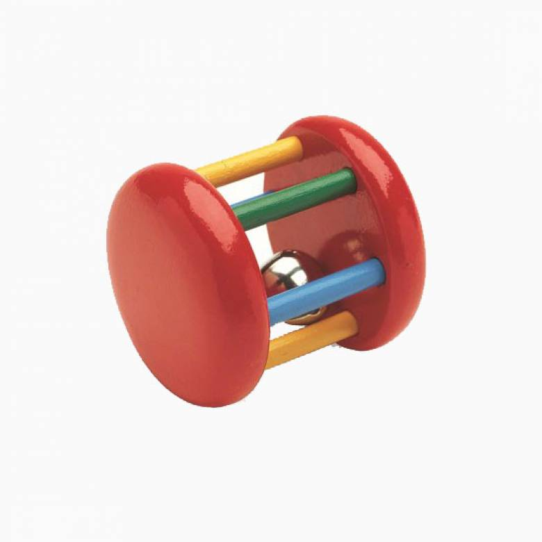 Wooden Bell Rattle By BRIO®