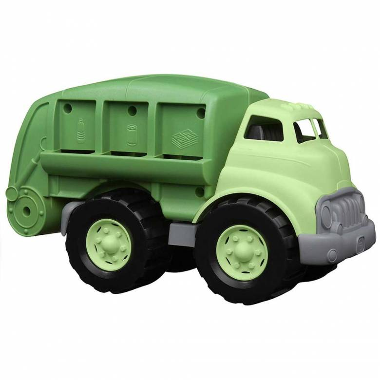 Recycling Dustbin Truck - Green Toys Recycled Plastic 3+