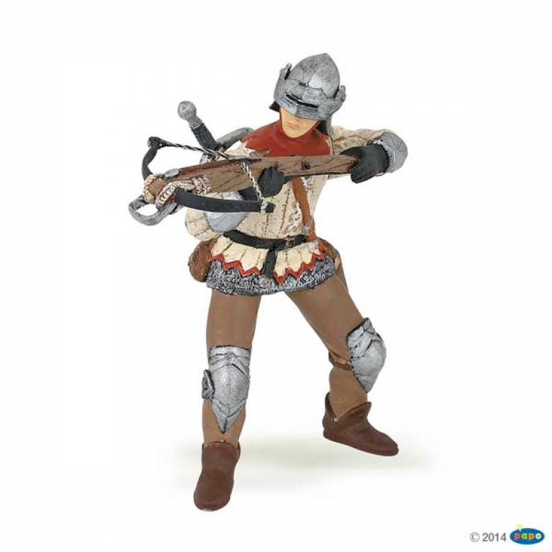 PAPO Red Crossbow Man Figure
