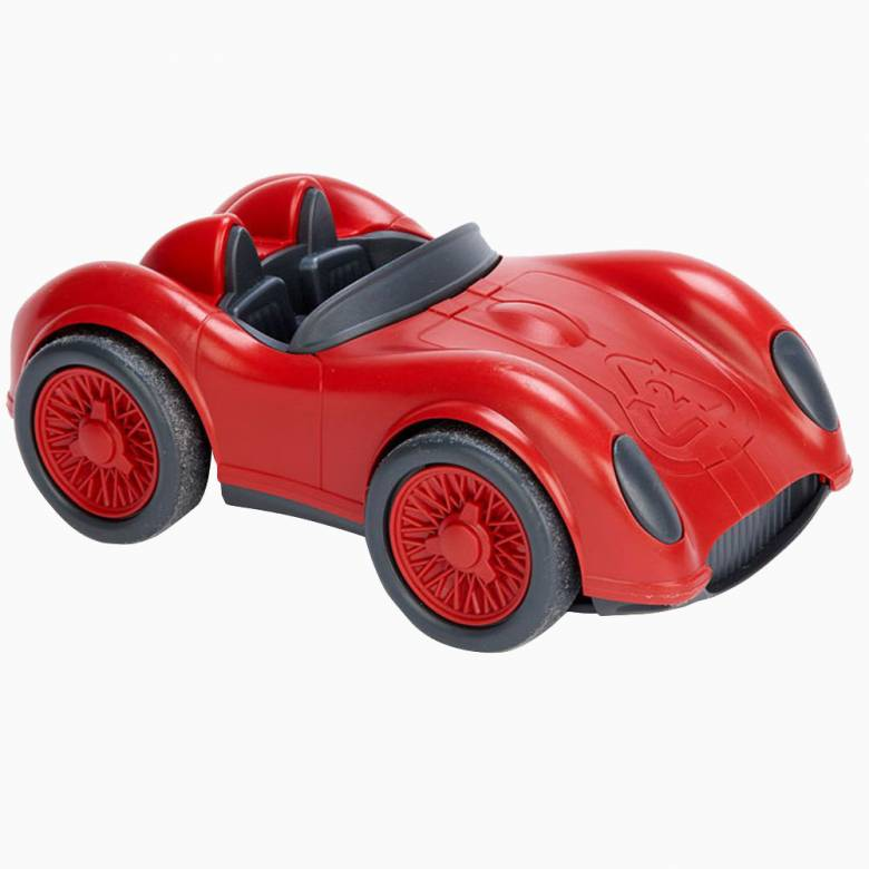 Red Race Car - Recycled Plastic By Green Toys 3+