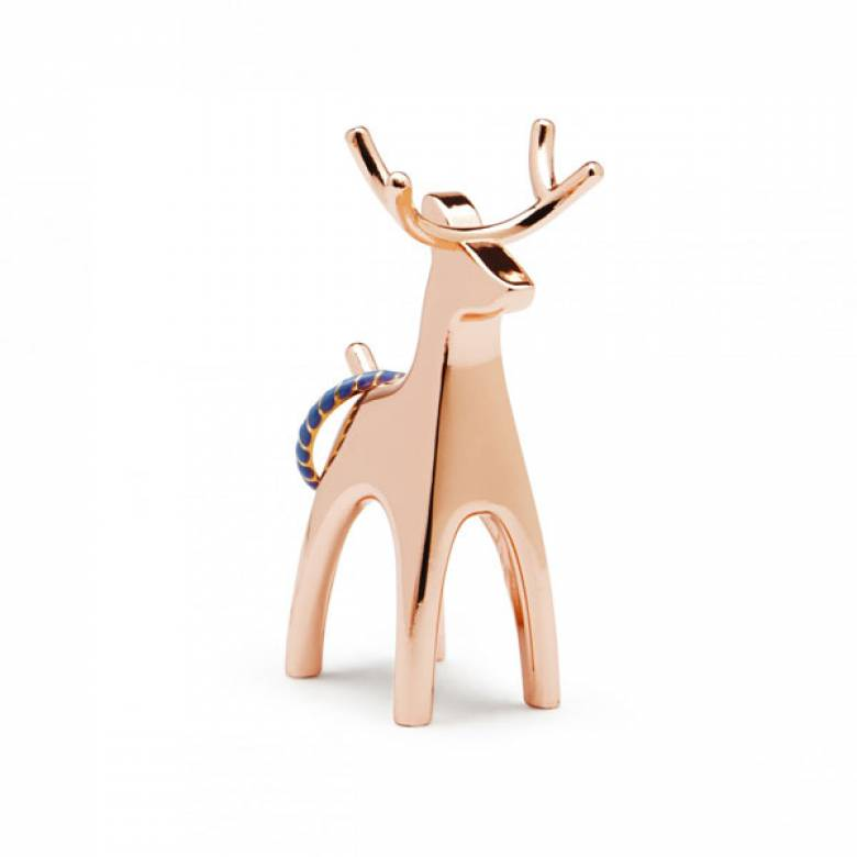 Anigram Reindeer Copper Ring Holder/ Decoration