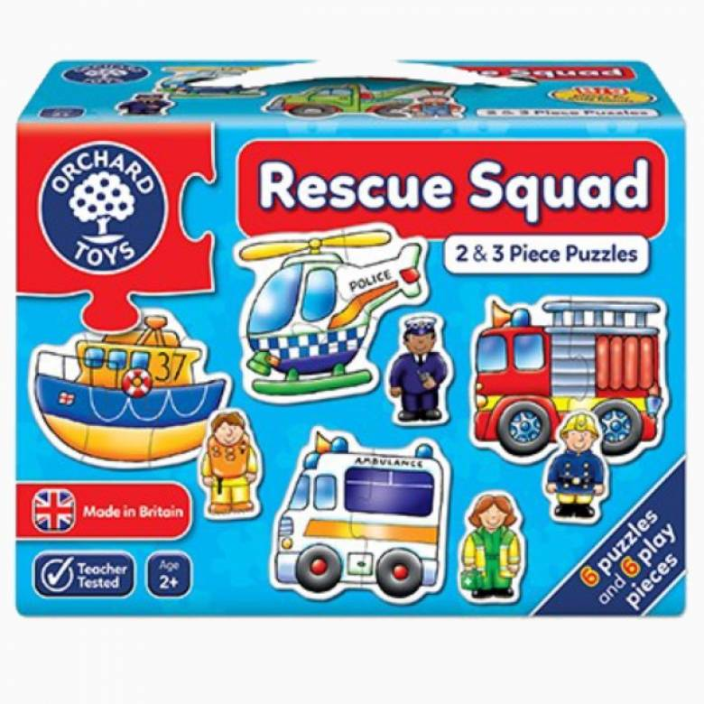 Rescue Squad Jigsaw Puzzle 2+