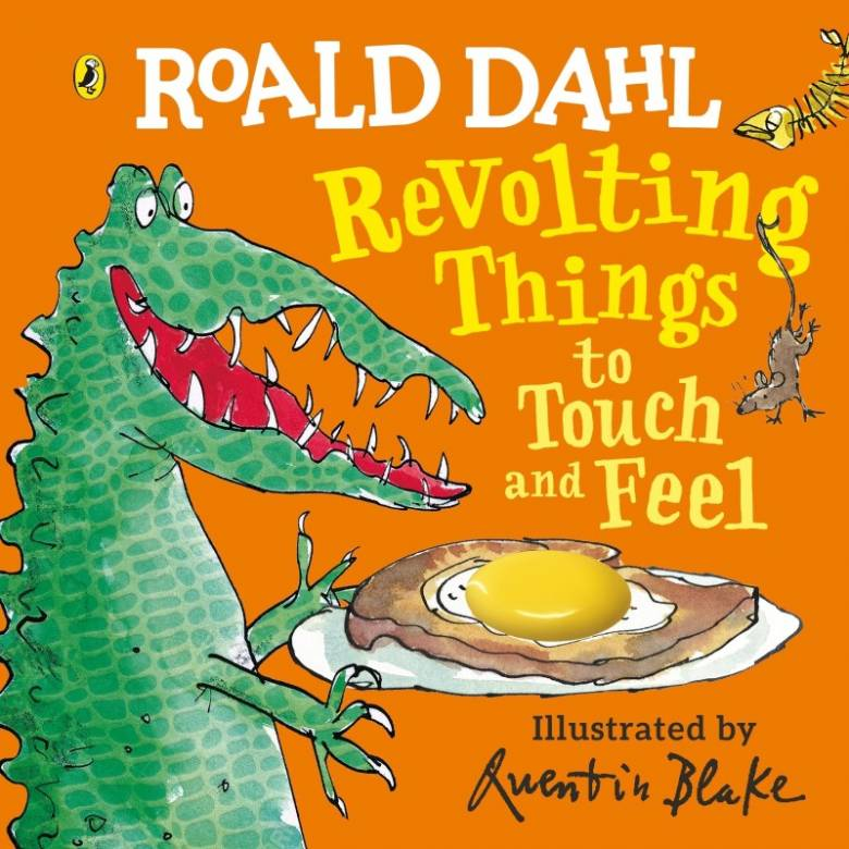 Revolting Things To Touch & Feel - Board Book