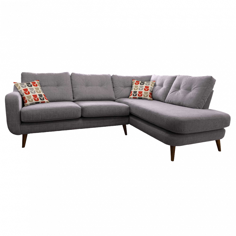 Lisbon Right Hand Corner Sofa By Whitemeadow - Fabric Grade B