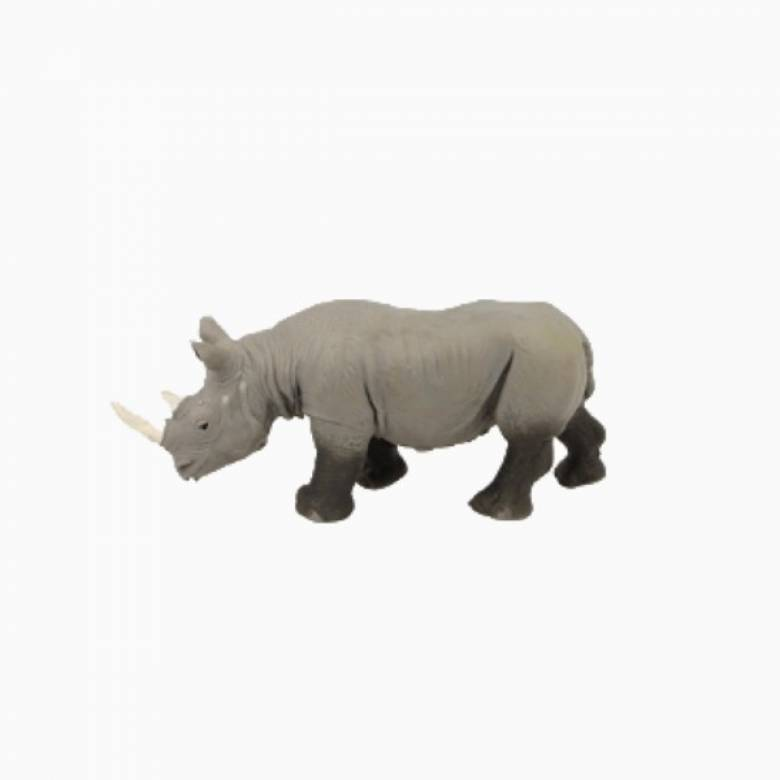 Rhino Stretchy Beanie Animal Toy 3+