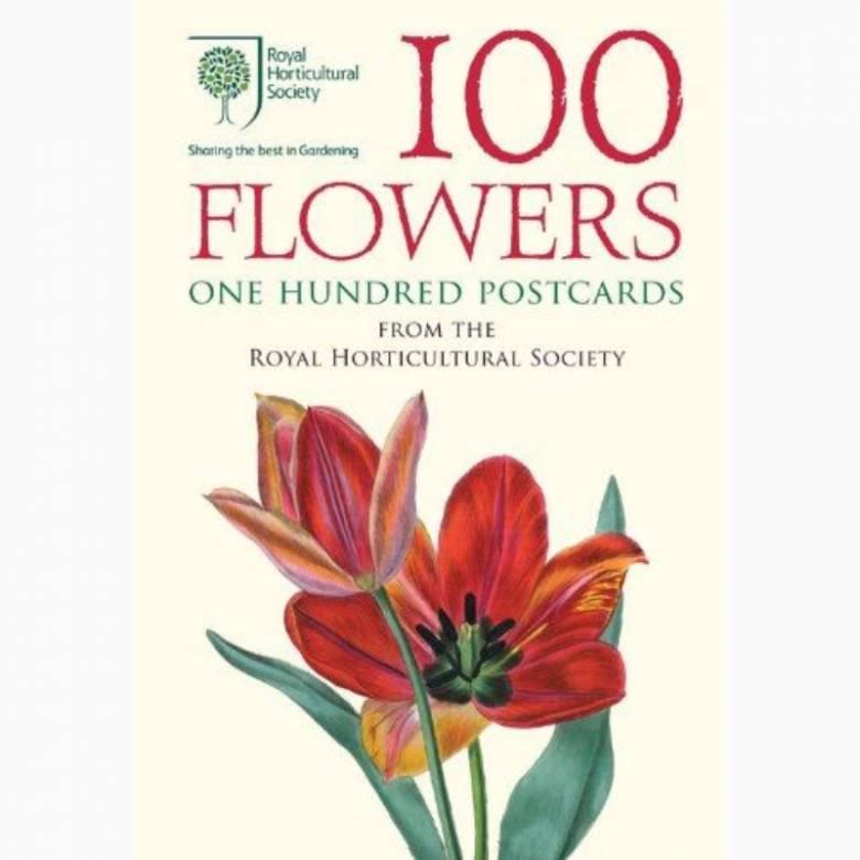 RHS 100 Flowers - Set Of 100 Postcards