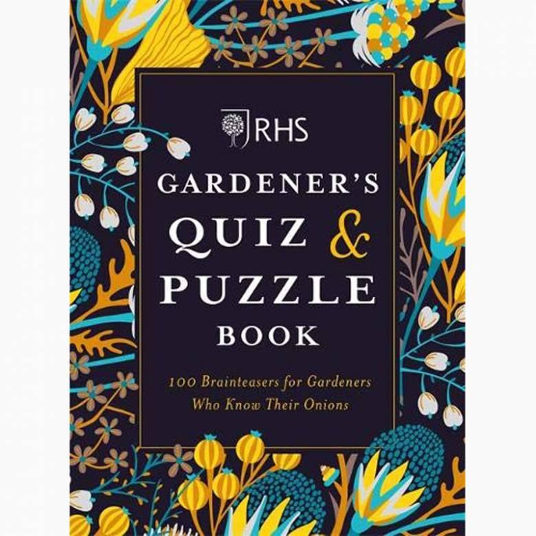 RHS Gardener's Quiz & Puzzle Book - Paperback Book