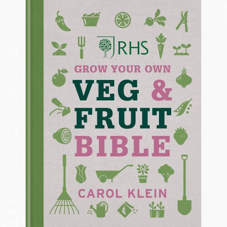 RHS Grow Your Own Veg & Fruit Bible - Hardback Book
