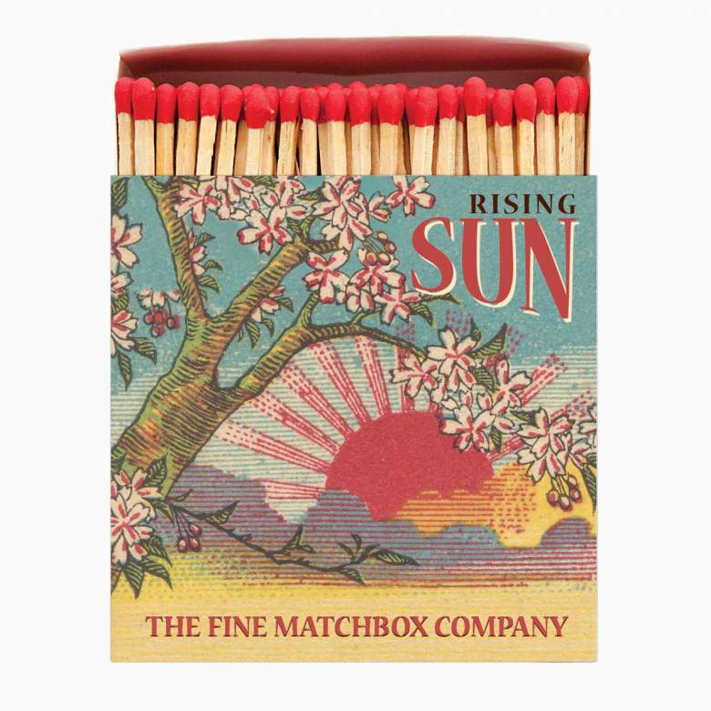Rising Sun - Square Box Of Safety Matches