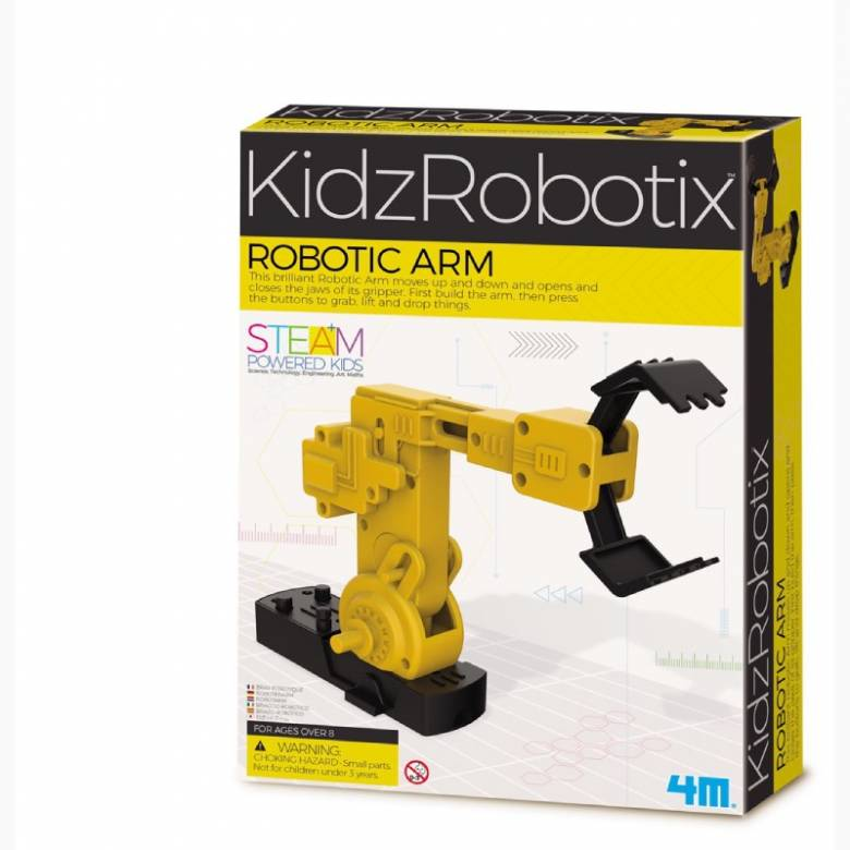 Robotic Arm - KidzRobotix Science Kit 4+