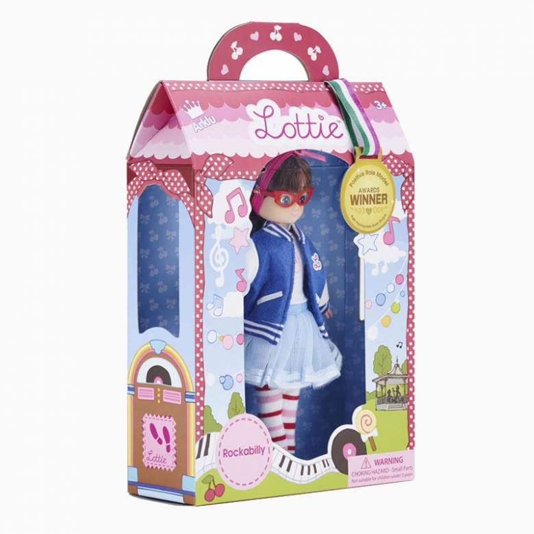 Rockabilly Lottie Doll 3+