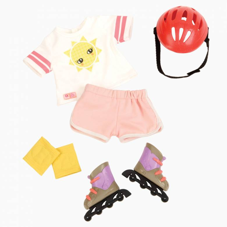 Roll With It - Our Generation Doll Clothes Set 3+