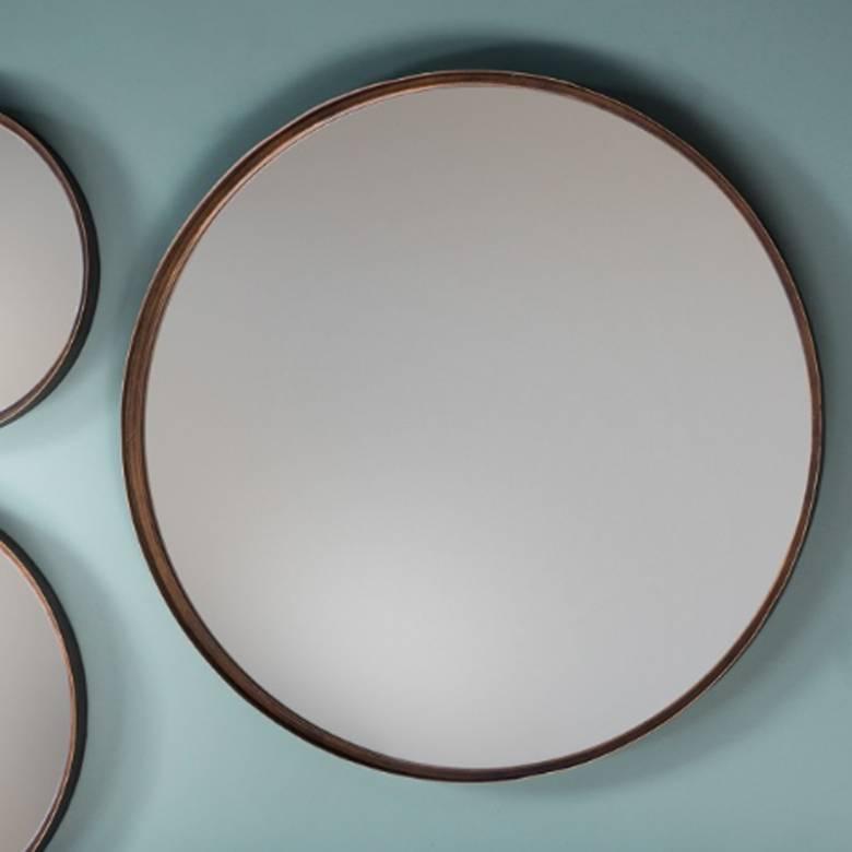 Round Bronze Mirror 61x61cm