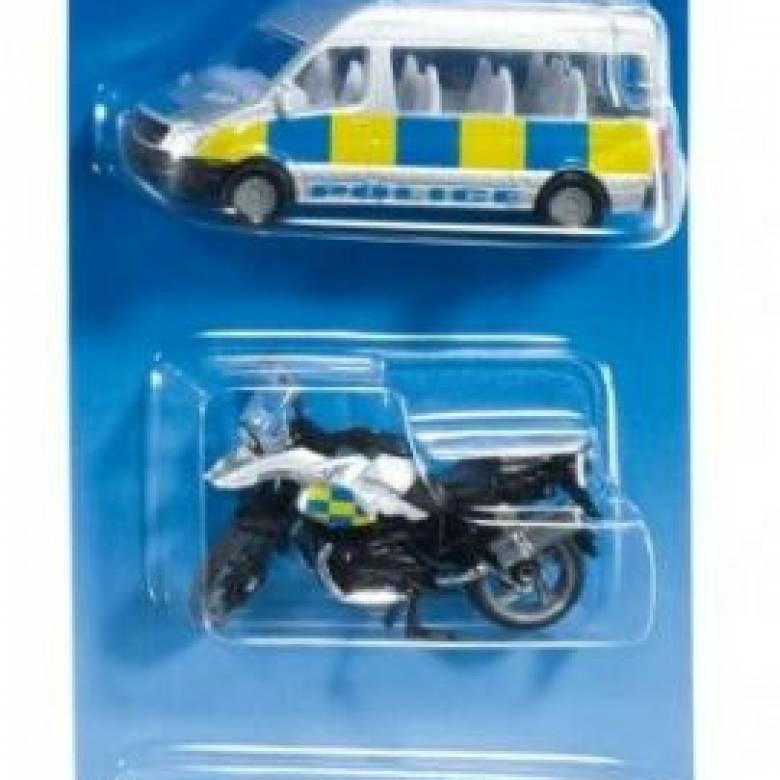 SIKU 3 Car Police Vehicle Set