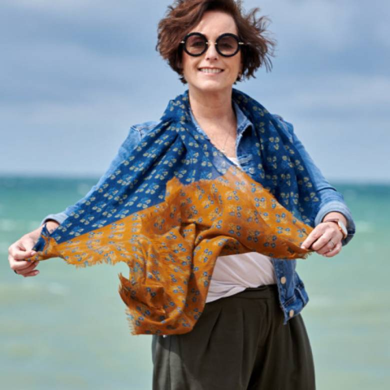 Cooksbridge Wool Scarf By Jo Edwards