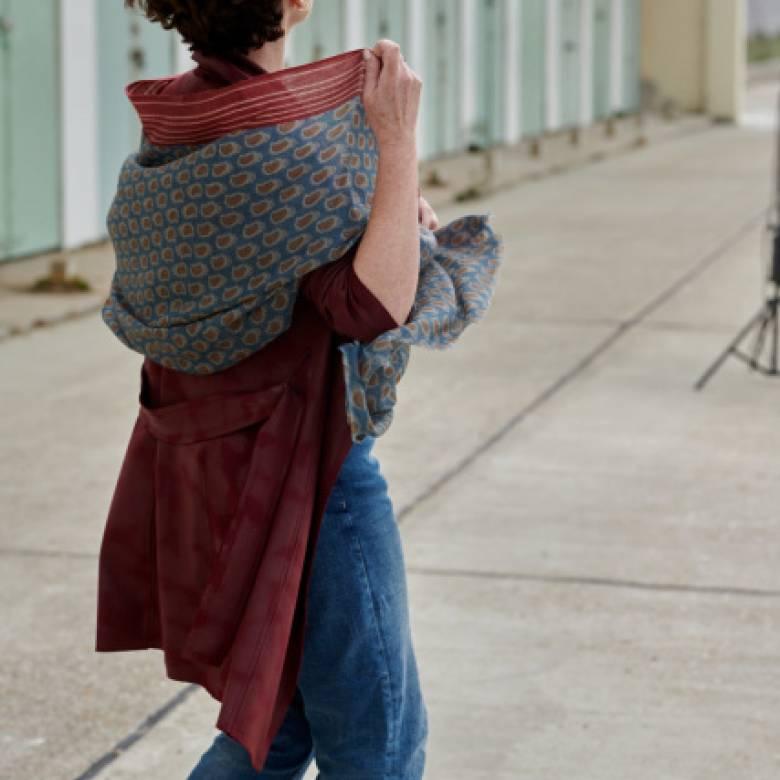Normandy Wool Scarf By Jo Edwards