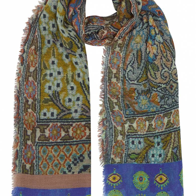 Annouche Wool Scarf By Jo Edwards