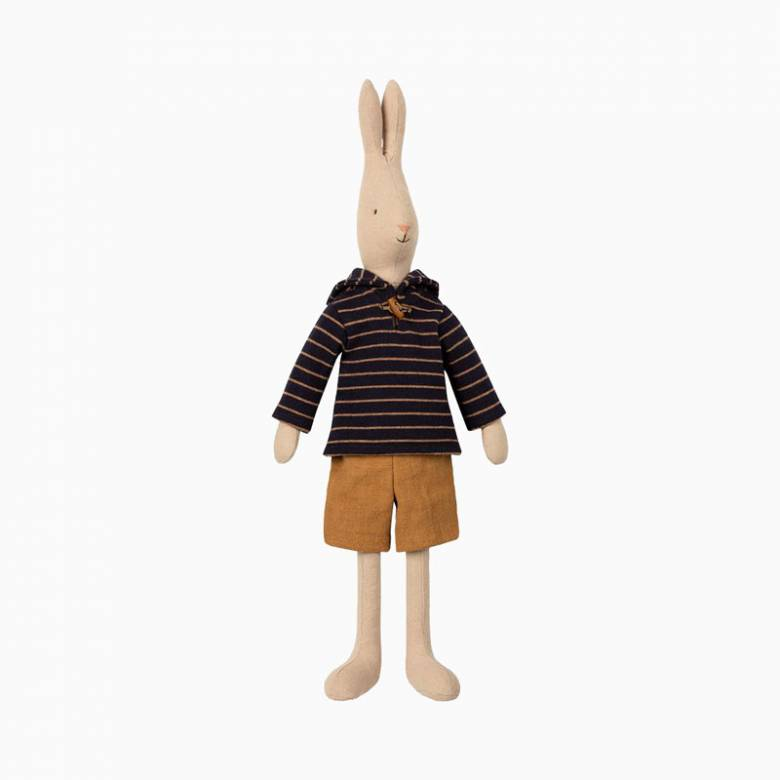 Rabbit Sailor In Striped Top Soft Toy By Maileg 0+