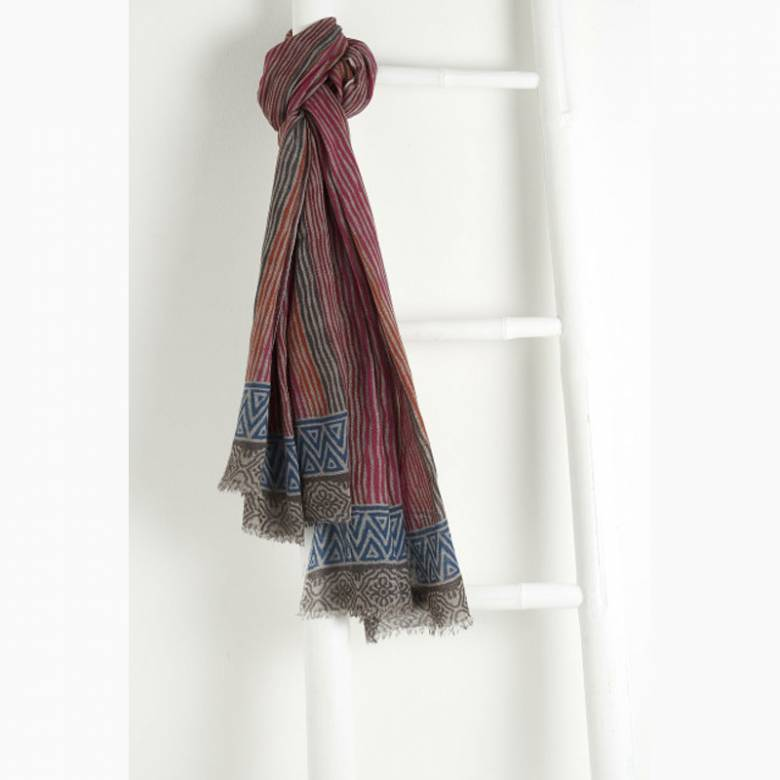 Saint Malo Wool Scarf By Jo Edwards