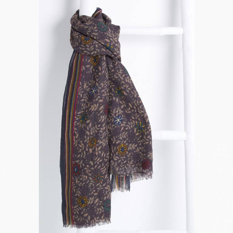 Saint Martine Wool Scarf By Jo Edwards .