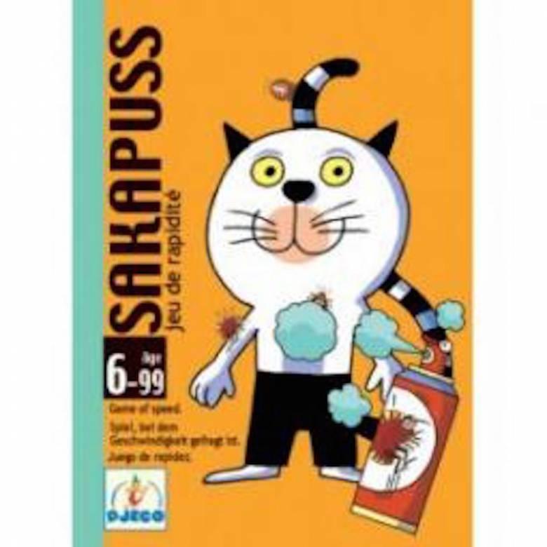 Sakapuss Game -Speedy Cat escapes the fleas 6-99yrs