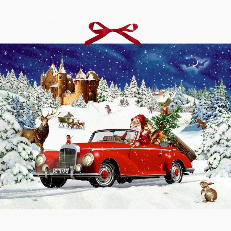 Santa's Road Trip Christmas Advent Calendar