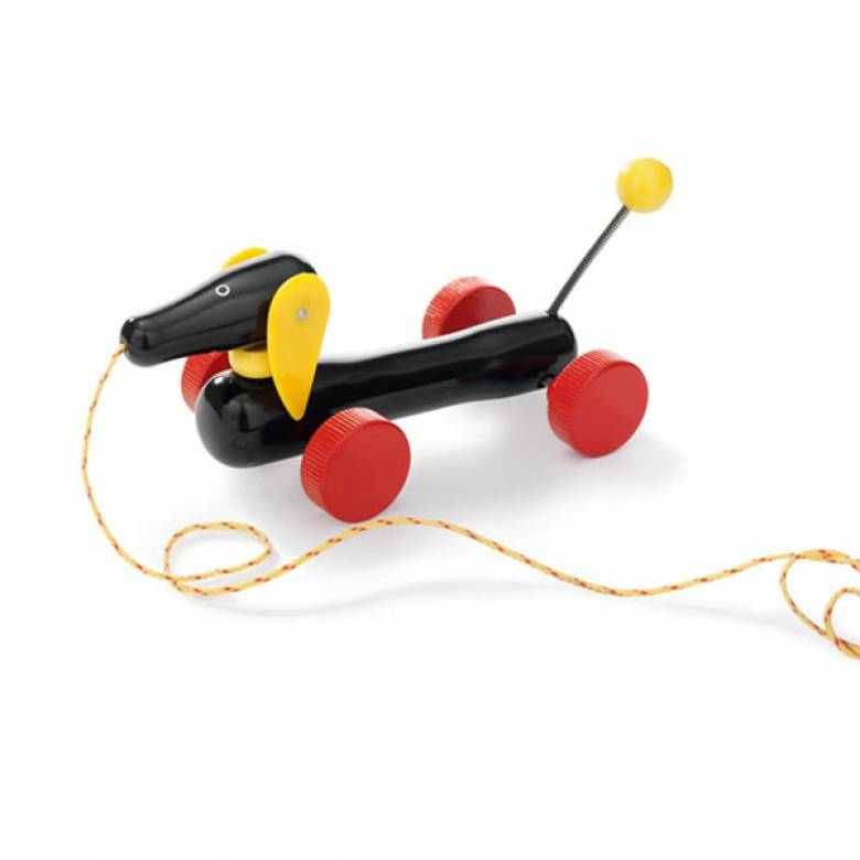 BRIO® Wooden Dachshund Pull Along Toy  1+