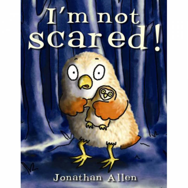 I'm Not Scared By Jonathan Allen Board Book