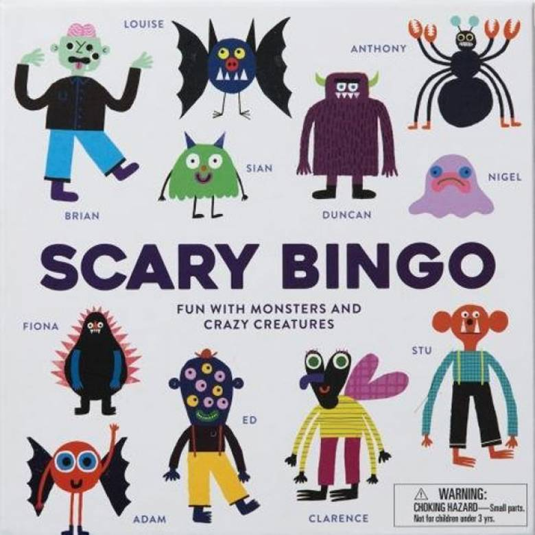 Scary Bingo Game 3+