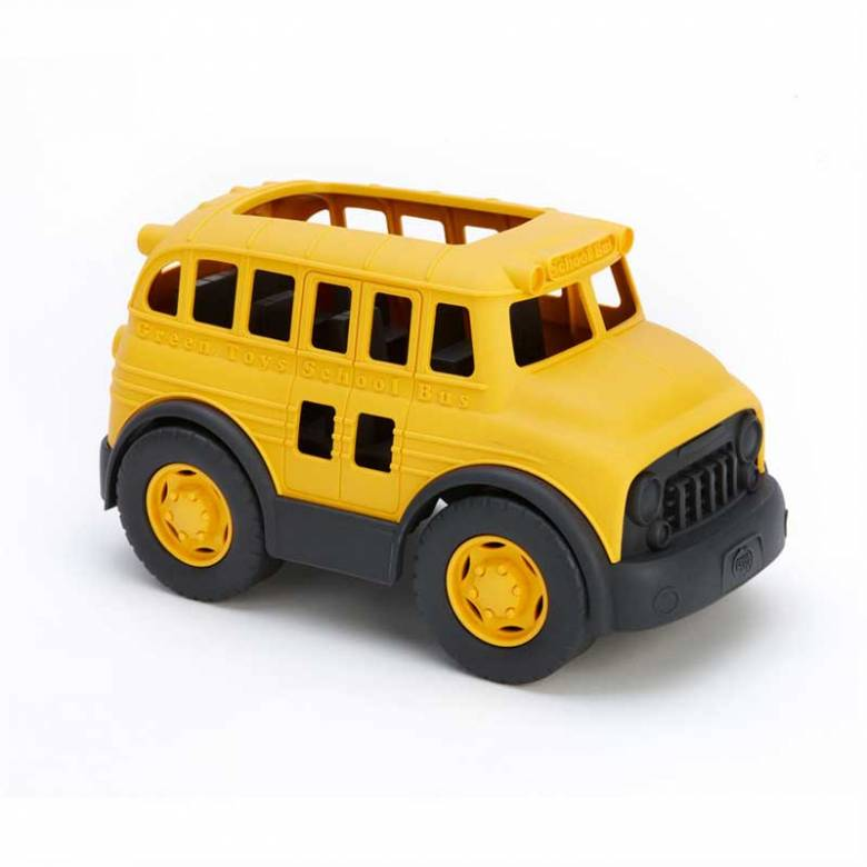 Yellow School Bus - Green Toys Recycled Plastic 3+