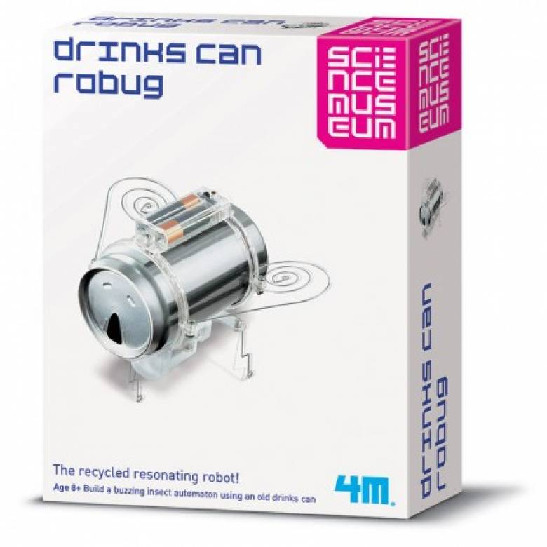 Soda Can Robug - Science Museum Kit 8+