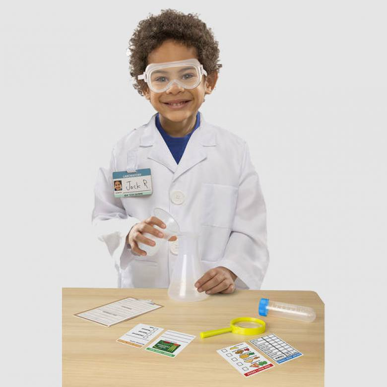 Scientist Fancy Dress Role Play Costume Set