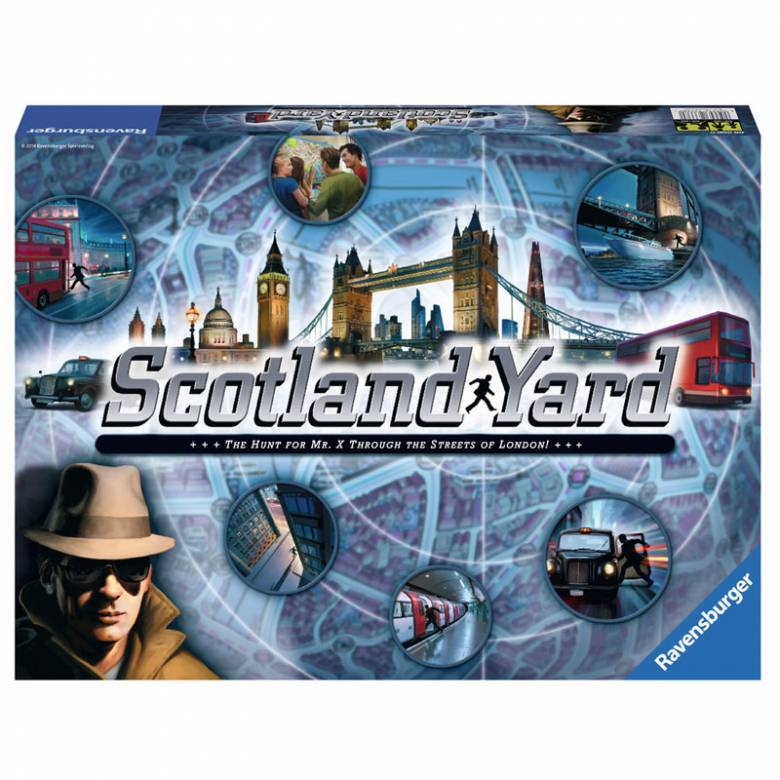 Scotland Yard Game 8+