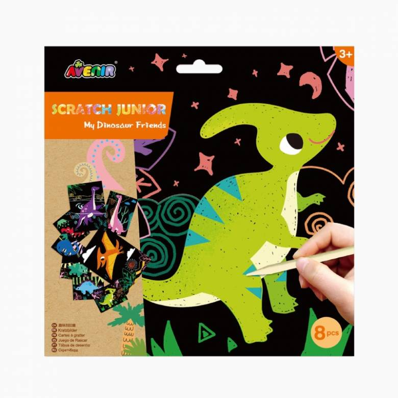 Scratch Junior Scratch Cards - My Dinosaur Friends 3+
