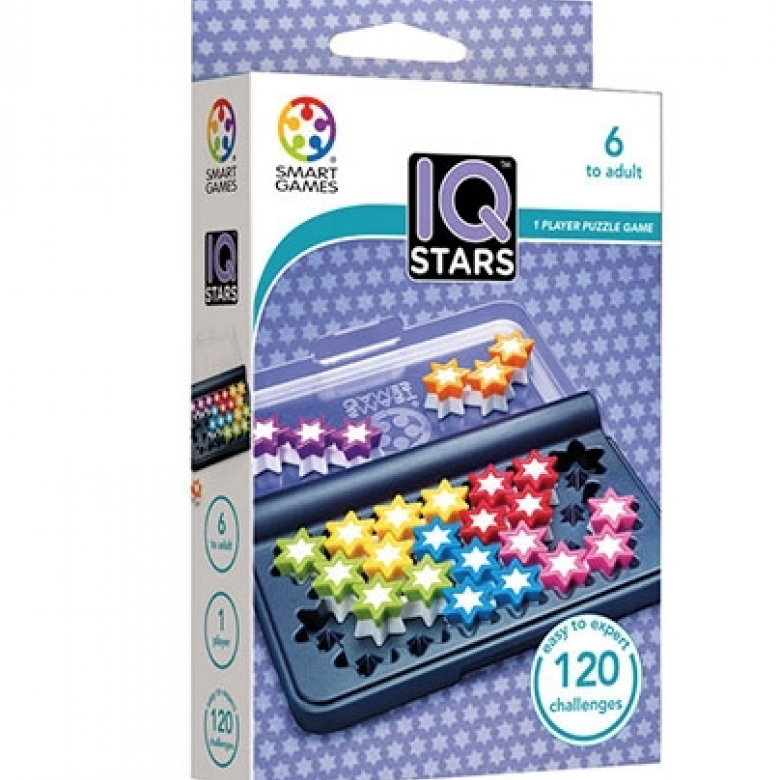 IQ Stars Game By Smart Games 6+
