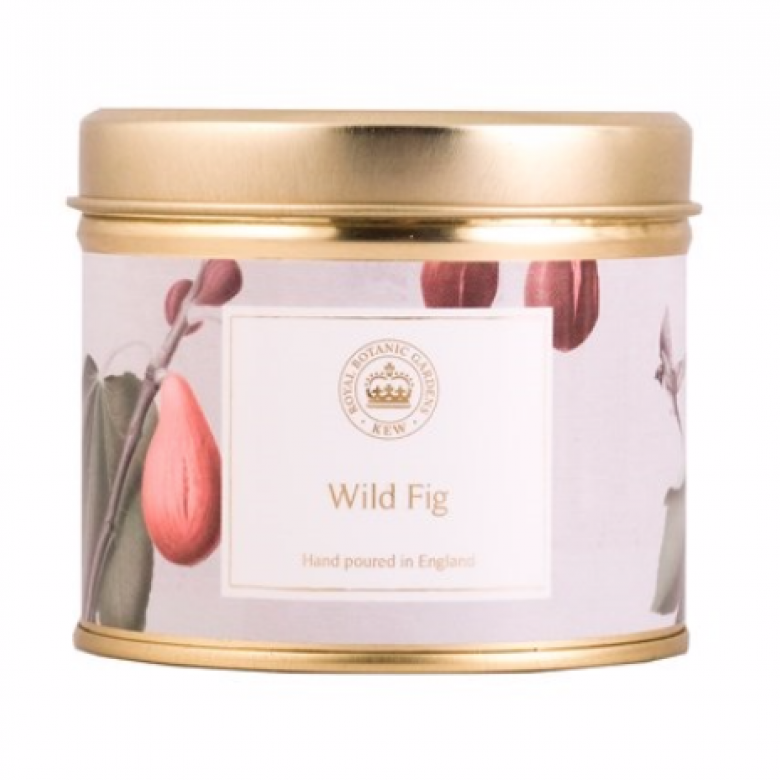 Wild Fig Kew Aromatics Candle In Tin 160g
