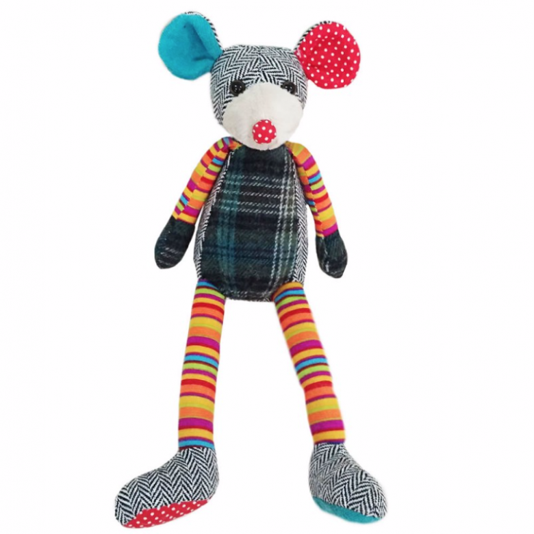 Mouse - Wilberry Woolies Soft Toy 1+