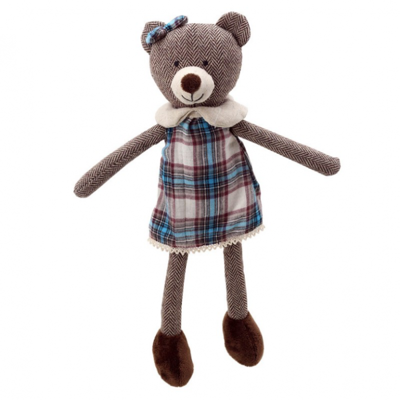Wilberry Friends Bear Girl Soft Toy
