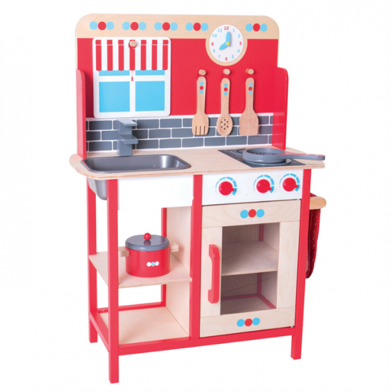 Play Kitchen - cooker sink etc 3yr+