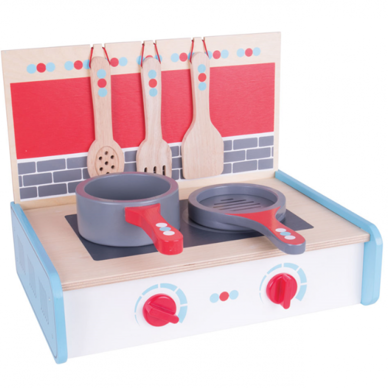 Portable Cooker Wooden Toy