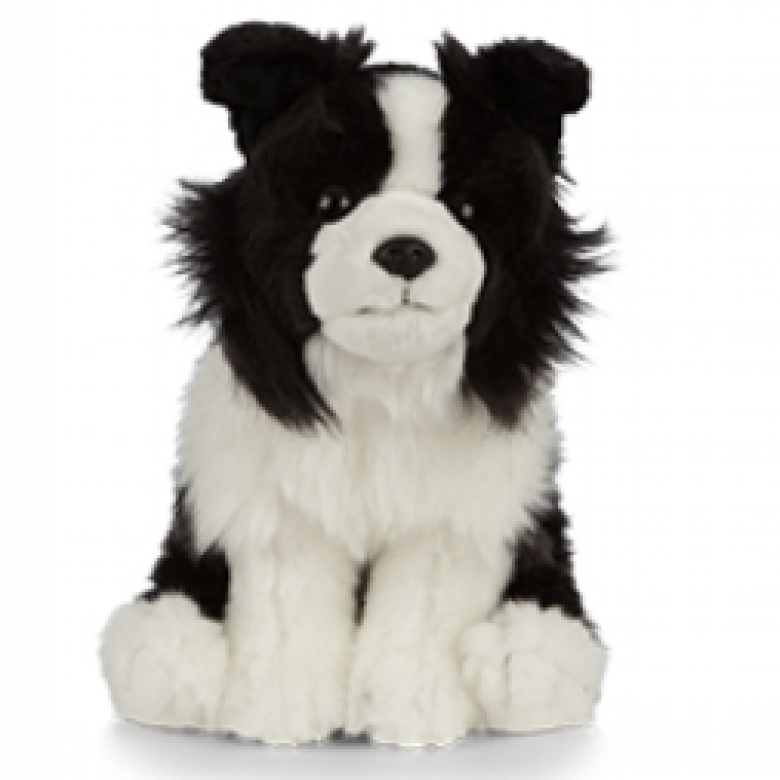 Border Collie Dog Soft Toy 0+