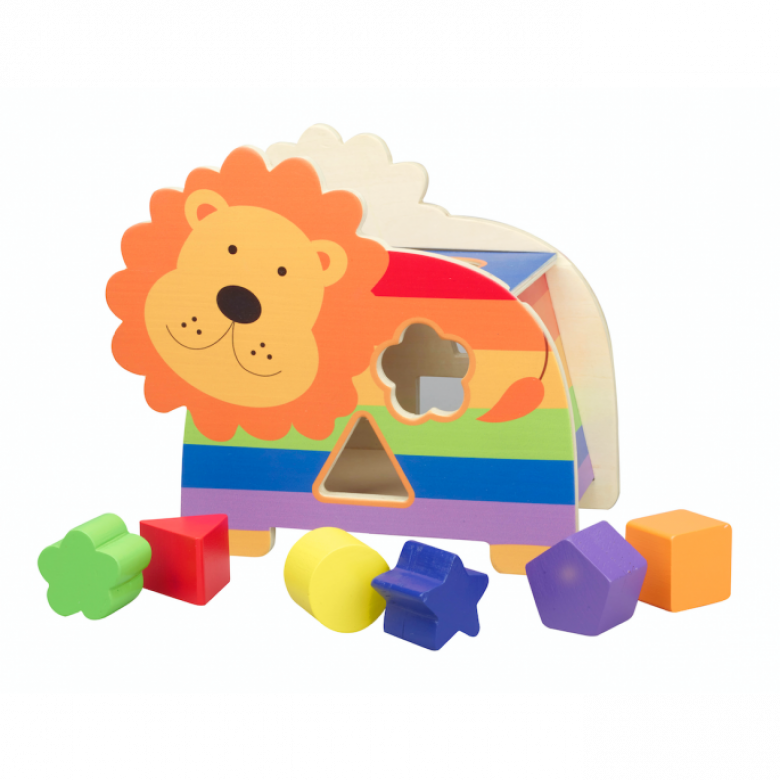 Lion Shape Sorter 1+