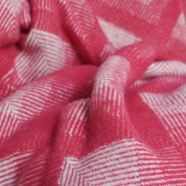 Prism Wool Blanket Watermelon 150x183cm