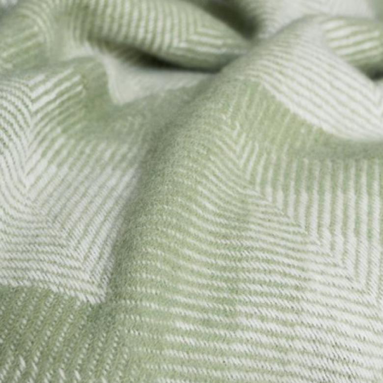 Prism Wool Blanket Fern 150x183cm