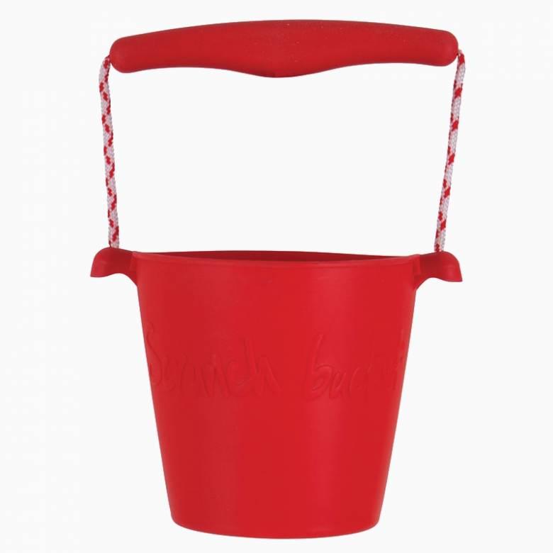 Scrunch Bucket In Red 1+