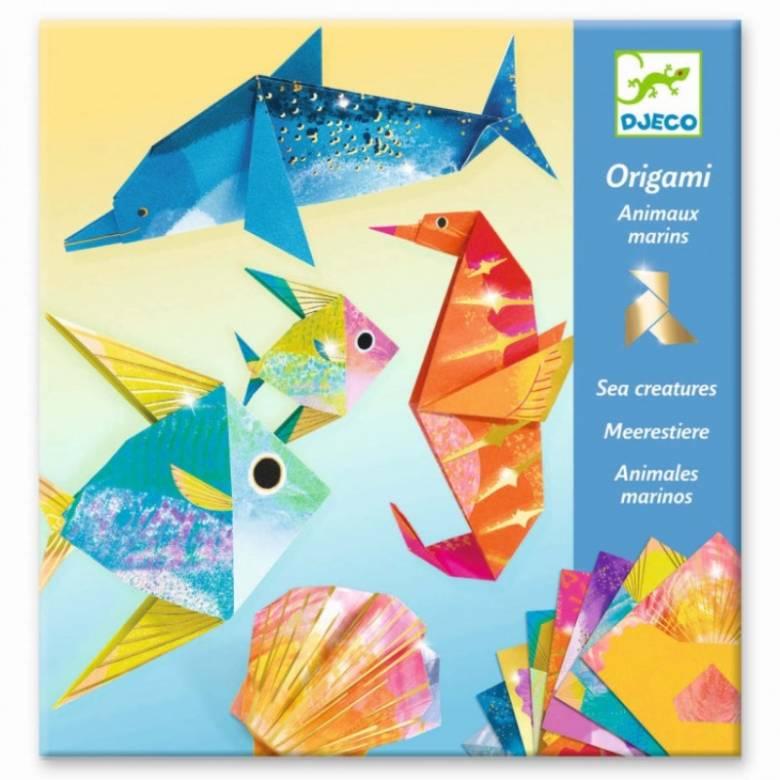 Sea Creatures - Origami Craft Kit 7+