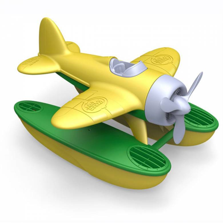 Yellow Seaplane By Green Toys - Recycled Plastic 1+