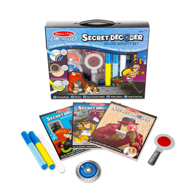 Secret Decoder Deluxe Activity Kit By Melissa & Doug 7+