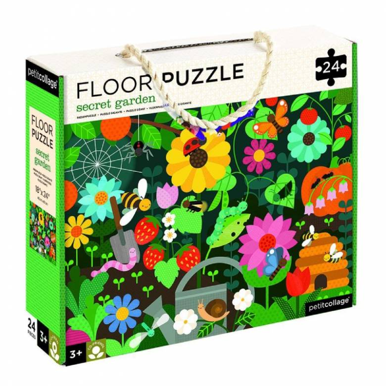 Secret Garden Floor Puzzle 24pc 3+